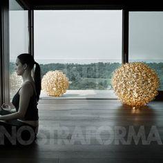 Icone Minitallux Salsola Inside LT lampadaire ou lampe de table version moyenne » Design Luminaires Contemporains, Lampes & Mobiliers » NOSTRAFORMA.