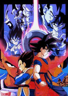 Vintage Dragon Ball Z poster (1992)Published by Toei Animation / Studio Bird / Akira Toriyama / Fuji tv / Shueisha