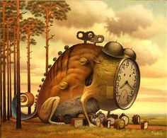 Time - Jacek Yerka