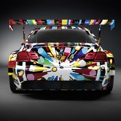 BMW Art Car by Jeff Koons, but, I don't like it