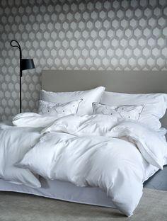 Høie of Scandinavia - Bedclothes, Scandinavian Bedroom, Satin, Luxury, Weaving, Furniture, Create, Cotton, Design