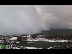 Lake Effect Snow From Lake Erie Quot A Time Lapse View Of