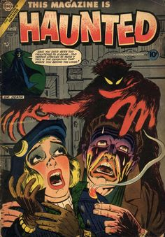 Comic Book Cover For This Magazine Is Haunted v3 #17