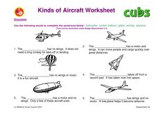 Kinds of planes