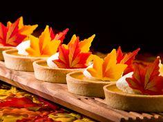 Pumpkin Pie Tartlets for a mini Thanksgiving treat! #AUIFineFoods #Fall #Pumpkin