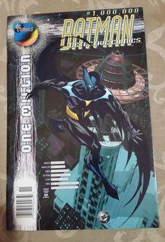 DC Comics Batman Detective Comics 1000000 One by Dc Comics, Comics For Sale, Batman Comics, Dc Comic Books, Comic Book Covers, Dc One Million, Batman Detective Comics, Marvel, Dc Heroes