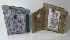 Stamp & Scrap with Frenchie: Chicken Outhouse for Hey Chick