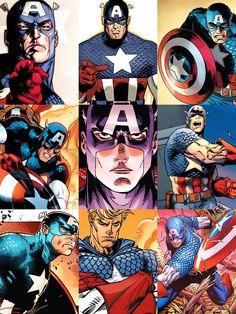 Captain America Photoset