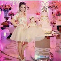 Mommy and me Mommy And Me Outfits, Family Outfits, Girl Outfits, Mother Daughter Fashion, Mom Daughter, Mom And Baby, Baby Dress, Just In Case, Flower Girl Dresses