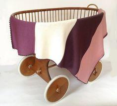 MERINO-Babydecke - Beerentöne von JuliLana - Gestricktes für Kinder und Erwachsene auf DaWanda.com