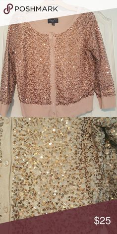 Pink cardigan Sparkly pink cardigan American Eagle Outfitters Sweaters Cardigans