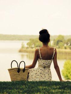 Polka dot picnic.
