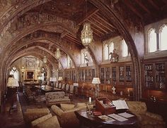 Library @ Hearst Castle