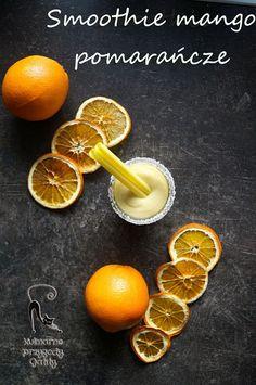 Kulinarne przygody Gatity: Smoothie z mango i pomarańczą