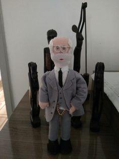 Dr Freud em feltro