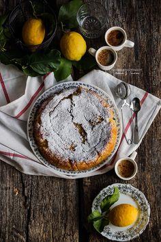 Migliaccio lemon semolina cake   Miss Becky's Cottage