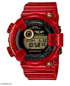 Relojes Casio G-shock 2012.