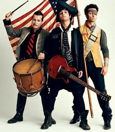 Green Day! Did I mention I love this photo? Because I love this photo... A LOT.