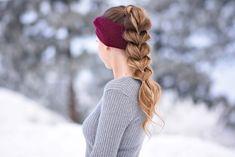Pull Thru Ponytail | Cute Girls Hairstyles