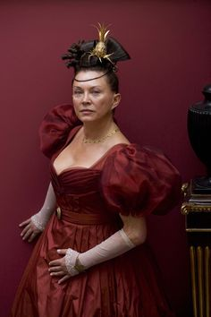 """Mrs Merdle is at the top of the social ladder and is married to """"the greatest man in London"""". Amanda Redman, Little Dorrit, Movie Costumes, Period Dramas, The Crown, Photo Galleries, Culture, Actresses, Actors"""