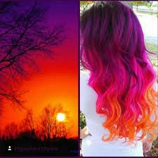 Image result for ombre red turquoise pinterest