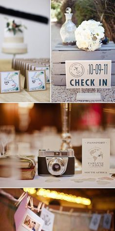 Travel Themed Wedding Ideas   Yes Baby Daily