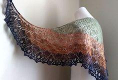 Ravelry: raven's fire shawl pattern by Lori Law