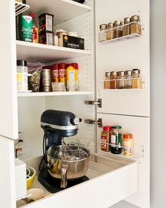 16 Laundry Room Organization Ideas: Hacks, Products & Photos   Apartment Therapy Modular Storage, Ikea Storage, Jar Storage, Storage Hacks, Hallway Storage, Storage Solutions, Storage Ideas, Types Of Organisation, Pantry Organization