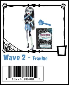 Wave 2 - Frankie   AKA School's Out  (Ghouls Rule Re-release)