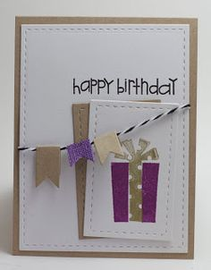 Homemade Cards by Erin: Happy Birthday