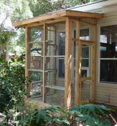 I've built catios in all shapes and sizes. If you'd like to give your cats a fun, stimulating, and safe place to enjoy the outdoors, give me a call. get some yourself some pawtastic adorable cat apparel! Hotel Gato, Outdoor Cat Enclosure, Diy Cat Enclosure, Cat Run, Cat Playground, Cat Condo, Outdoor Cats, Space Cat, Cat Furniture