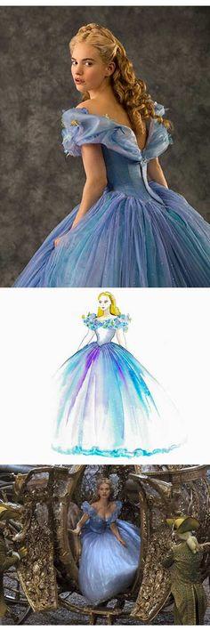 Cenicienta y el #vestido azul
