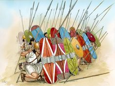 Iberian warriors - Carlos Fernández del Castillo