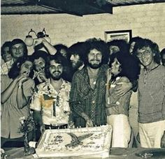 So, today is this kid Don Henley's birthday… and here's a little throwback photo from 38 birthdays ago! Happy 68th, Don!  As for other Eagles in this shot, I can only spot Glenn… And I'm pretty...
