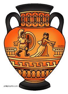Grecian Urn clip art