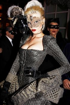 HotelFashionLand | French Vogue's 90th Anniversary's Masquerade Ball | A Grand Masquerade | Rosamaria G Frangini