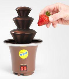 rogeriodemetrio.com: Nesquik Chocolate Fountain