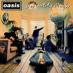 Michael Spencer Jones has revived his original cover art from the 1994 Oasis album 'Definitely Maybe' in this striking archival inkjet reproduction. An album that shaped a generation, the now iconic cover image has taken on a cult status: so familiar, Rock And Roll, Pop Rock, Beatles, Noel Gallagher, Music Album Covers, Music Albums, Lps, Michael Stipe, Oasis Lyrics
