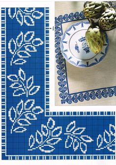 Name: Angezeigt: 10755 . Cross Stitch Borders, Cross Stitch Flowers, Stitch Patterns, Knitting Patterns, Red Tablecloth, Blue Cross, Bargello, Christmas Cross, Filet Crochet