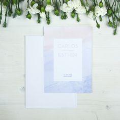 Invitación de boda NEW YORK Summer Of Love, Frame, Decor, Wedding Invitations, Colors, Picture Frame, A Frame, Decorating, Dekoration