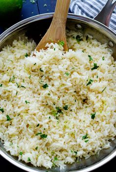 Cilantro Lime Rice - Life In The Lofthouse http://life-in-the-lofthouse.com/cilantro-lime-rice/