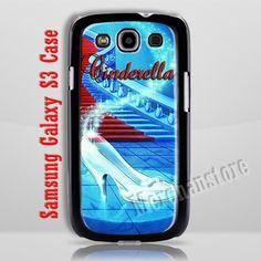 Cinderella Glass Slipper Samsung Galaxy S3 Case