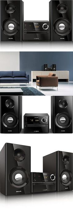 Compact and Shelf Stereos: Wireless Music Stereo Speaker System Home Theater Mp3 Cd Usb Iphone Phone Micro BUY IT NOW ONLY: $190.59