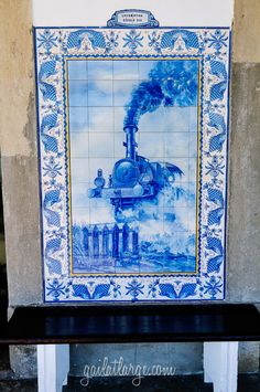 Ovar Railway Station, Portugal (4)Ovar Railway Station Azulejos  Posted on March 23, 2015 by Gail at Large