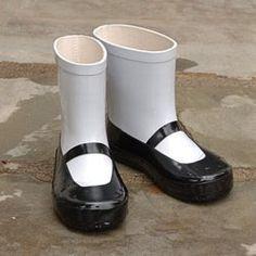 Lovely rainboots!
