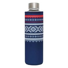 Drikkeflaske BLÅ 500ml - MARIUS - Hyttefeber.no Drink Bottles, Flask, Barware, Drinking, Beverage, Drink, Tumbler, Drinks
