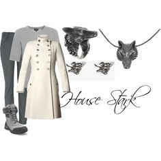 House Stark ~ Winter Is Coming.... even my husband agrees, I need this outfit.
