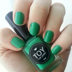 Whimsy Is Forever: My first TOY Nail Polish