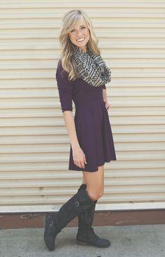 Lizard Thicket - Plum Dandy Dress, $44.50 (http://www.shoplizardthicket.com/plum-dandy-dress/)