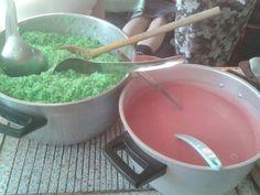 Rice and sauce